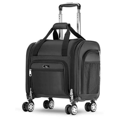 Brags Four Wheeled Spinner Underseat Carry On - Multiple Compartments
