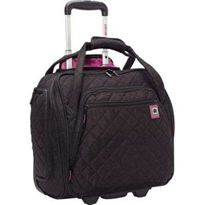 DELSEY Paris Rolling Under Seat Tote Bag  Black  One Size