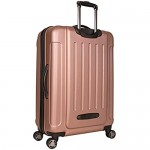 Kenneth Cole Reaction Renegade 28 ABS Expandable 8-Wheel Upright Rose Gold inch Checked