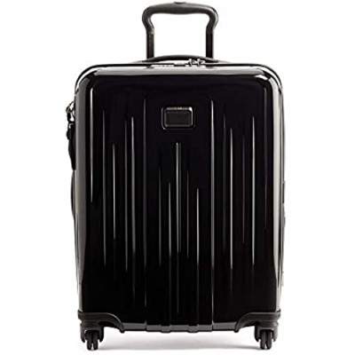 TUMI - V4 Continental Expandable 4 Wheeled Carry-On - 22 Inch Hardside Luggage for Men and Women - Black