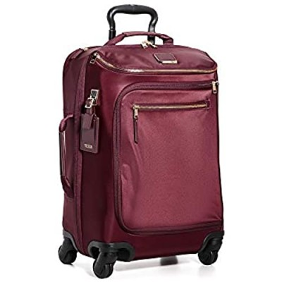 TUMI - Voyageur Leger International Carry-On - 22 Inch Rolling Suitcase for Women - Cordovan