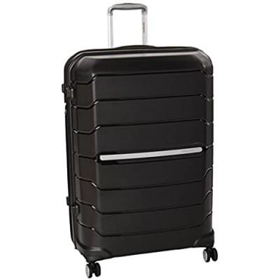 Samsonite Octolite Spinner Carry-On Luggage Large Black Suitcase