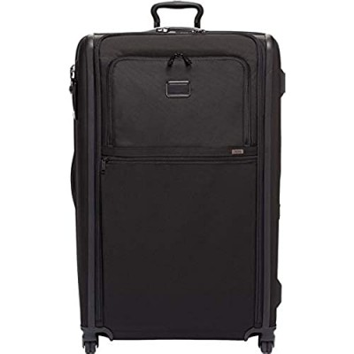 TUMI - Alpha 3 Worldwide Trip Expandable 4 Wheeled Packing Case Suitcase - Rolling Luggage for Men and Women - Black