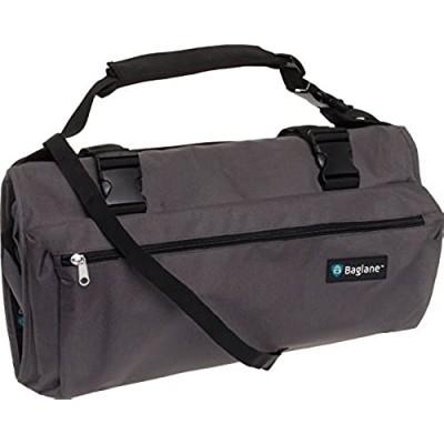 BagLane Garment Suit Bag - Travel Carry On Garment Bag (Grey)