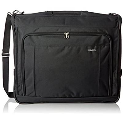 DELSEY Paris Deluxe Garment Hanging Travel Bag  Black  45 Inch