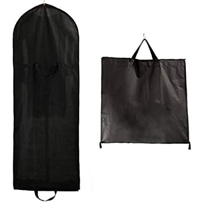 FP Breathable Garment Clothes Cover  Long with Zip  with Two Pockets  for Dresses  Evening Dresses  Dresses  Suits  Coats  Jackets  Trousers and Longer Clothes