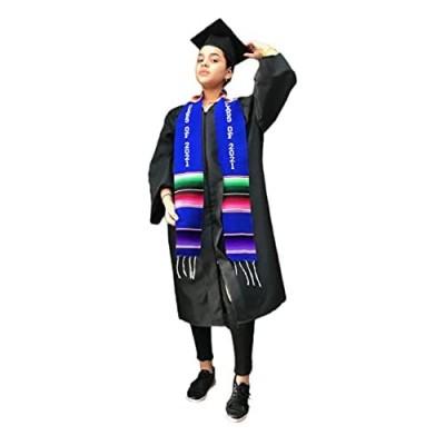 Graduation Class of 2021 Sash BLUE garment accessory Mexican sarape Sash 1 pc