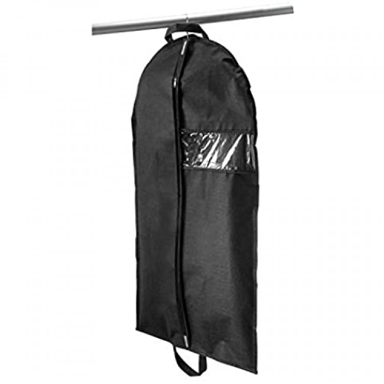 Simplify Suits Garment Bags Carry On Travel Good Dresses Gowns Uniforms Costumes & More Black