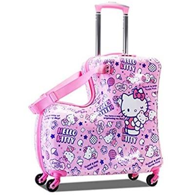 24in hello kitty kid luggage suitcase kid travel Child luggage Child suitcase Child travel Can ride Child gift