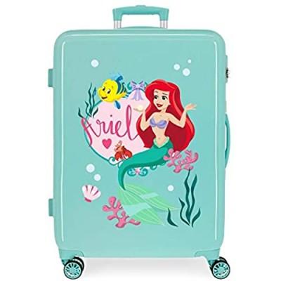 Disney Girls' Medium Trolley  Ariel  48x68x26 cms