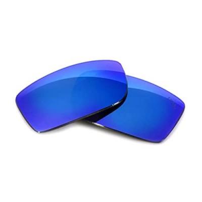 Fuse Lenses +Plus Replacement Lenses for Costa Del Mar Reefton - Polarized Sunglasses - Costa Del Mar Replacement Lenses - Replacement Lenses for Sunglasses - UV Protection - Glacier Mirror -64mm