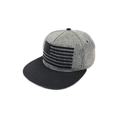 HONAO Baseball Cap American Flag Snapback Hats Unisex Adjustable Trucker Hat Hip Hop Flat Brim Cap Dad Hat Boys Flat Brim hat