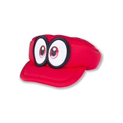 MAPLECOS Super Odyssey Red Hat 3D Raised Eyes CappyCap