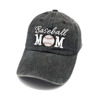 Waldeal Women's Adjustable Embroidered Baseball Cap Vintage Washed Dad Hat