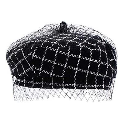 Danse Jupe Women Classic Tweed Tartan Beret British Retro Artist Beanie Hat Cap