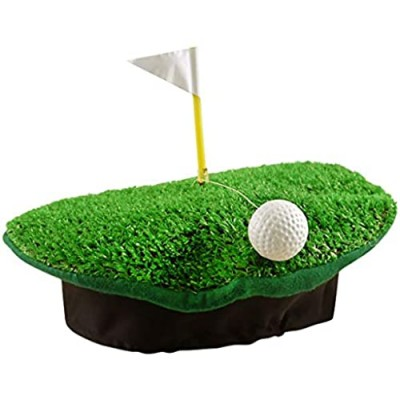 Rimi Hanger Mens Womens Crazy Golf Beret Hat with Ball and Flag Adults Hen Party Accessories One Size Fits Most