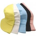 55cube Bucket Hat Packable Summer Travel Unisex Fisherman Hat