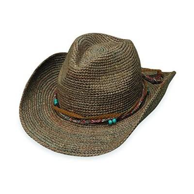Wallaroo Hat Company Women's Catalina Cowboy Hat – Raffia  Modern Cowboy  Designed in Australia