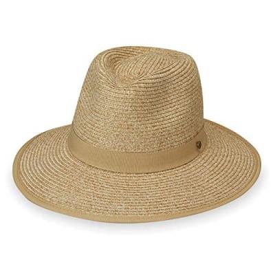 Wallaroo Hat Company Women's Gabi Fedora – UPF 50+  Lightweight  Adjustable  Packable  Designed in Australia