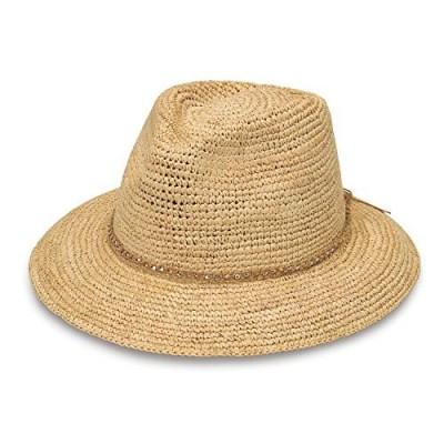 Wallaroo Hat Company Women's Malibu Fedora Hat – Elegant Fedora  Modern Style  Designed in Australia.