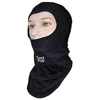 K1 Race Gear 701430 Black Cotton Full Face Head Socks - Balaclava