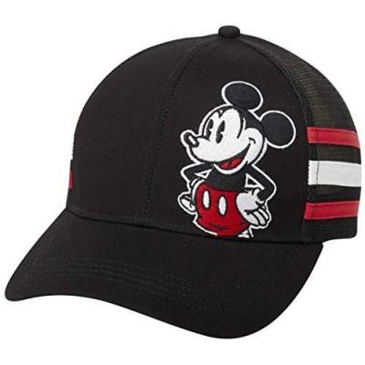 Disney Men's Baseball Cap Mickey Mouse Curved Brim Snap-Back Hat