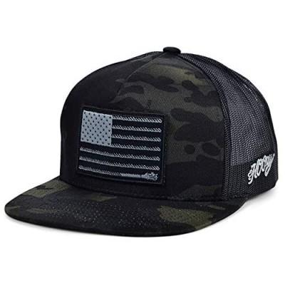 HOOEY Liberty Rope Adjustable Snapback Hat