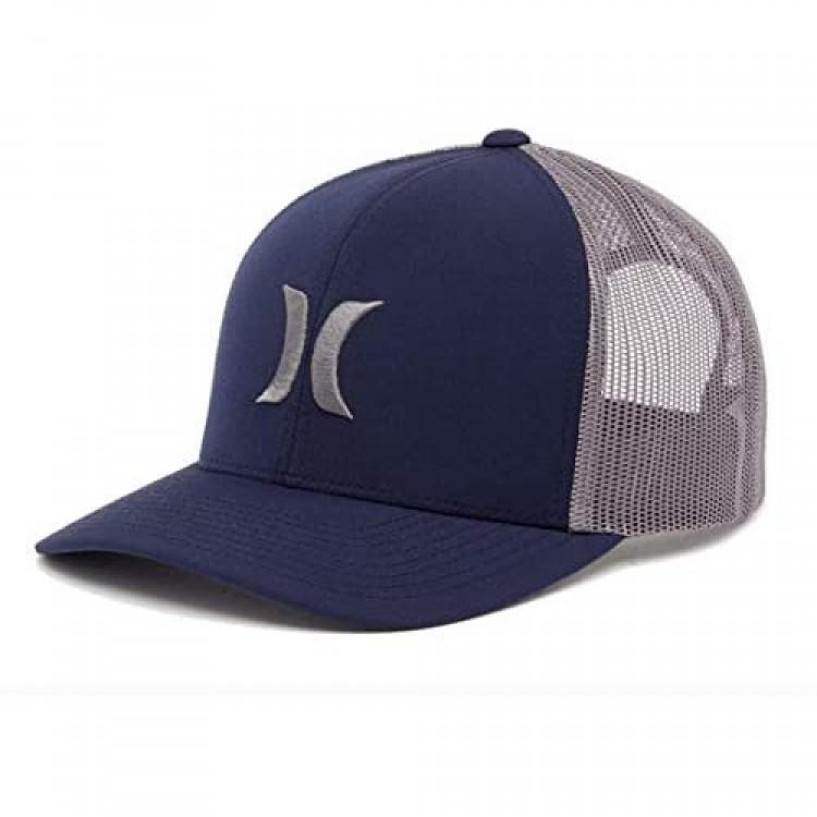 Hurley Adult Men's Mesh Snapback Adjustable Trucker Cap Hat