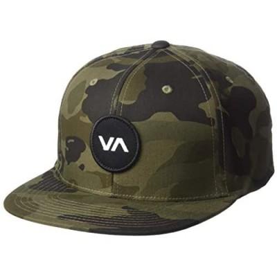 RVCA Men's Va Logo Patch Snapback Hat