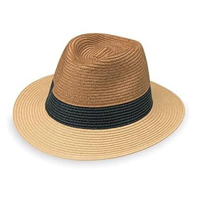 Wallaroo Hat Company Men's St. Tropez Fedora – Fedora  Adjustable  Designed in Australia  Tri-Tone