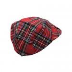 WITHMOONS Newsboy Flat Cap Tartan Check Plaid Outdoors Beret Hat YZ30078