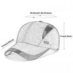 Ohrwurm Summer Foldable Running Cap Quick Drying Sports Hat 50+ UPF Inhibit UV Mesh Cap