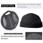 Clape Breathable Docker Cap Rolled Cuff Beanie Brimless Worker Hat Street Casual Visor-Less Sailor Skullcap