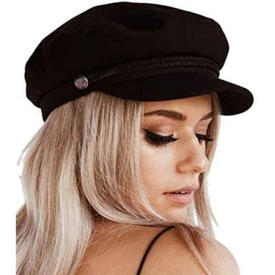 Womens Newsboy Cap Wool Winter Hats Baker Boy Hats Adjustable for Ladies