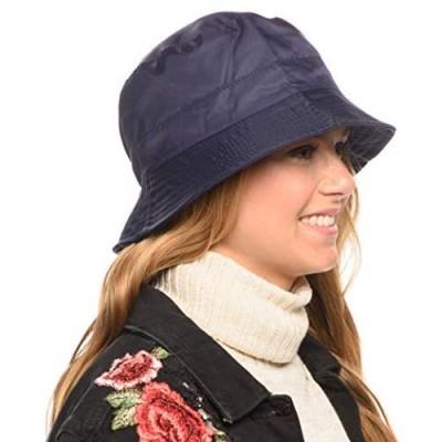 Adjustable Waterproof Bucket Rain Hat in Nylon  Easy to fold CL3056